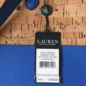 Ralph Lauren Bags - RALPH LAUREN Hanway Cork Tote Shopper Purse NWT 3d660afaca